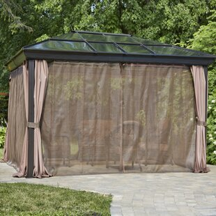 12 Ft. W x 14 Ft. D Aluminum Patio Gazebo by Gazebo Penguin