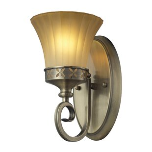 Winfree 1-Light Armed Sconce by Fleur De Lis Living