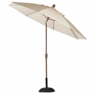 Summer Classics Crank Auto Tilt 9' Beach Umbrella