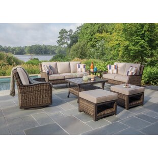 Trenton Deep Sunbrella Sofa Seating Group