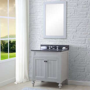 Cabery 30 Single Bathroom Vanity Set with Mirror