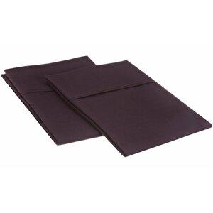 Sheatown Microfiber Solid Pillowcase Pair (Set of 2)