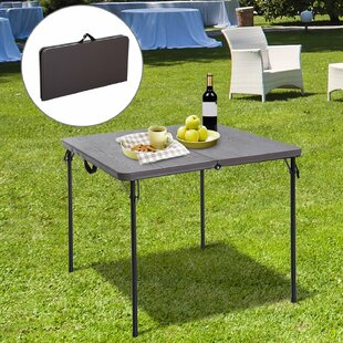 Sewell Folding Powder Coated Steel Picnic Table