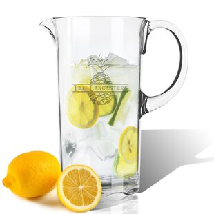 Personalized Pineapple Tritan 55 oz. Pitcher