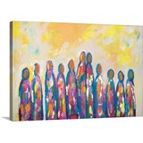 'Love Amongst Us' by Amira Rahim Painting Print