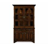 Tudorbethan Lighted China Cabinet by Jonathan Charles Fine Furniture