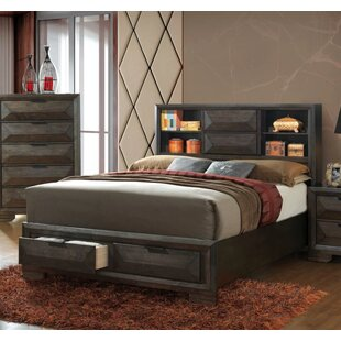 Union Rustic Mitchell Storage Platform Bed