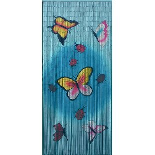 Butterflies Single Curtain Panel by Bamboo54
