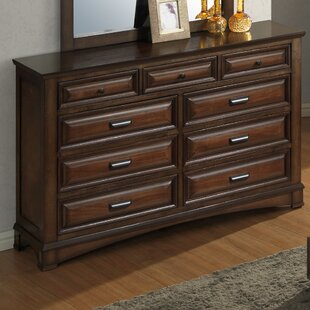 North Adams 9 Drawer Dresser