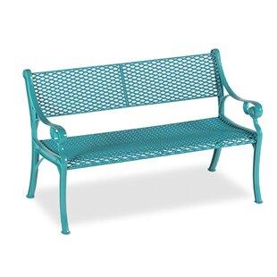 Wabash Valley Love Seat Iron Garden bench