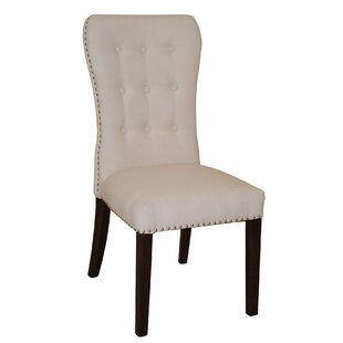 Aaron Upholstered Dining Chair (Set of 2) by Taran Designs