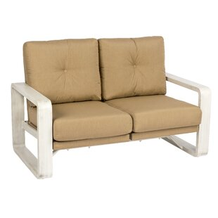 Vale Dural Rocking Loveseat with Cushions by Woodard