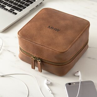 Personalized Technology Organizer Travel Case