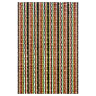 Woven Cotton Brown Indoor/Outdoor Area Rug