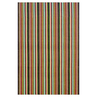 Woven Cotton Brown Indoor/Outdoor Area Rug by Dash and Albert Rugs