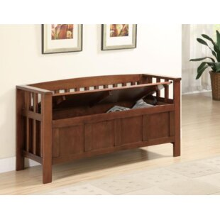 Darby Home Co Kato Wood Storage Bench