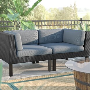 Zoar 2 Piece Sofa Set with Cushions