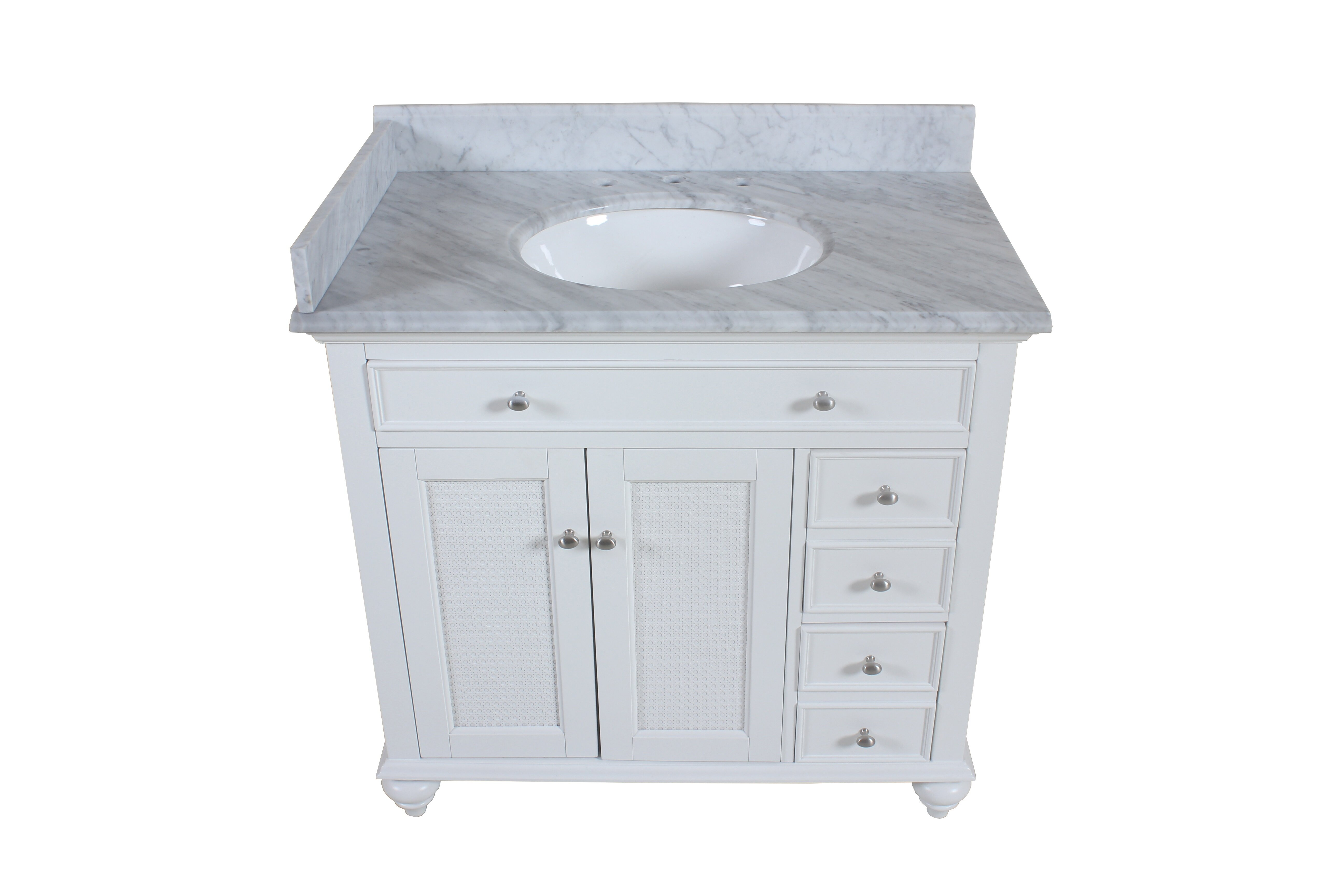 Carrara Marble Side Splash