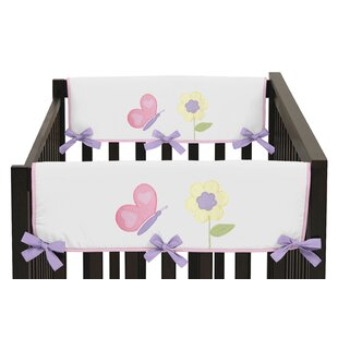 Price comparison Butterfly Side Crib Rail Guard Cover (Set of 2) BySweet Jojo Designs