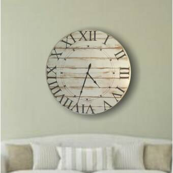 Howard Miller Oversized Gallery 32 Wall Clock Reviews Wayfair