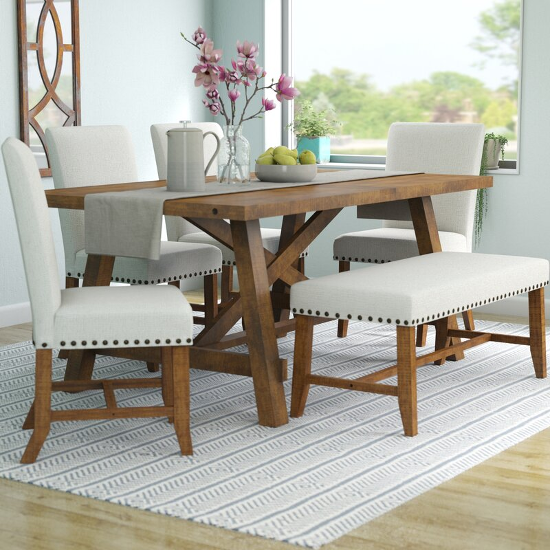 Beautiful Montcerf 6 Piece Dining Set