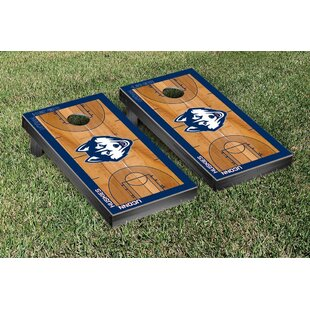 Victory Tailgate NCAA Basketball Court Cornhole Game Set