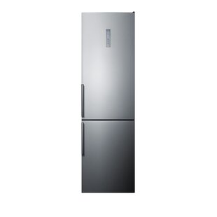 12.5 cu. ft. Energy Star Counter Depth Bottom Freezer Refrigerator by Summit Appliance