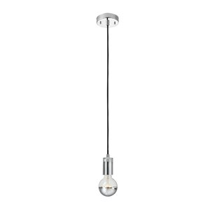 Wrought Studio Mission 1-Light Bulb Pendant