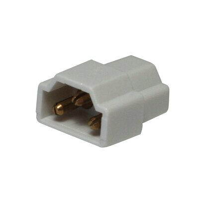 Inline Connector American Lighting Llc Finish: White