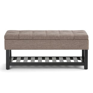 Burse Upholstered Storage Bench by Charlton Home