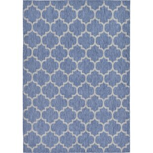 Landon Blue Indoor/Outdoor Area Rug