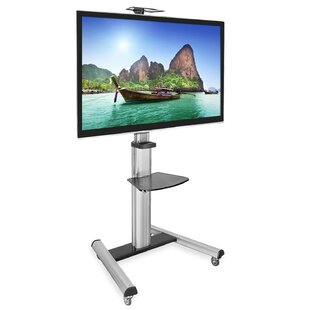 TV Cart Mobile Height Adjustable Floor Stand Mount 30