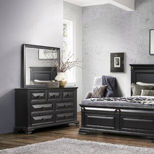 Mccready 7 Drawer Double Dresser with Mirror by Darby Home Co