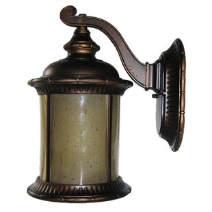 Brayden 1-Light Outdoor Wall Lantern by Whitfield Lighting Best #1