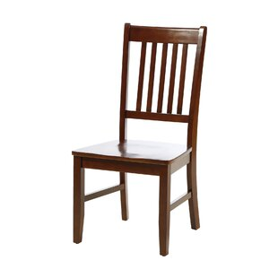 Andover Mills Solid Wood Dining Chair (Set of 2)
