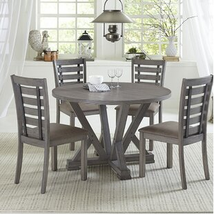 Keely 5 Piece Dining Set Gracie Oaks