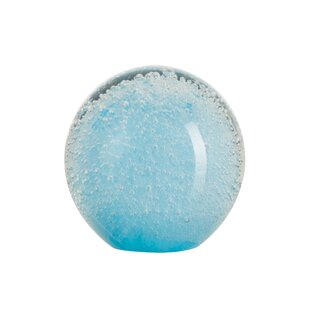 Zara Glass Paper Weight By House Of Hampton