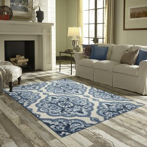 Fiona Blue Area Rug