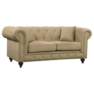 Garrett Chesterfield Loveseat