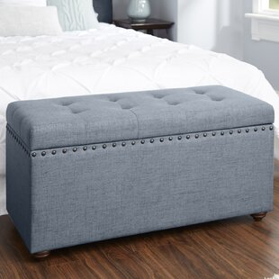 Alcott Hill Adeline Nail Head Upholstered..