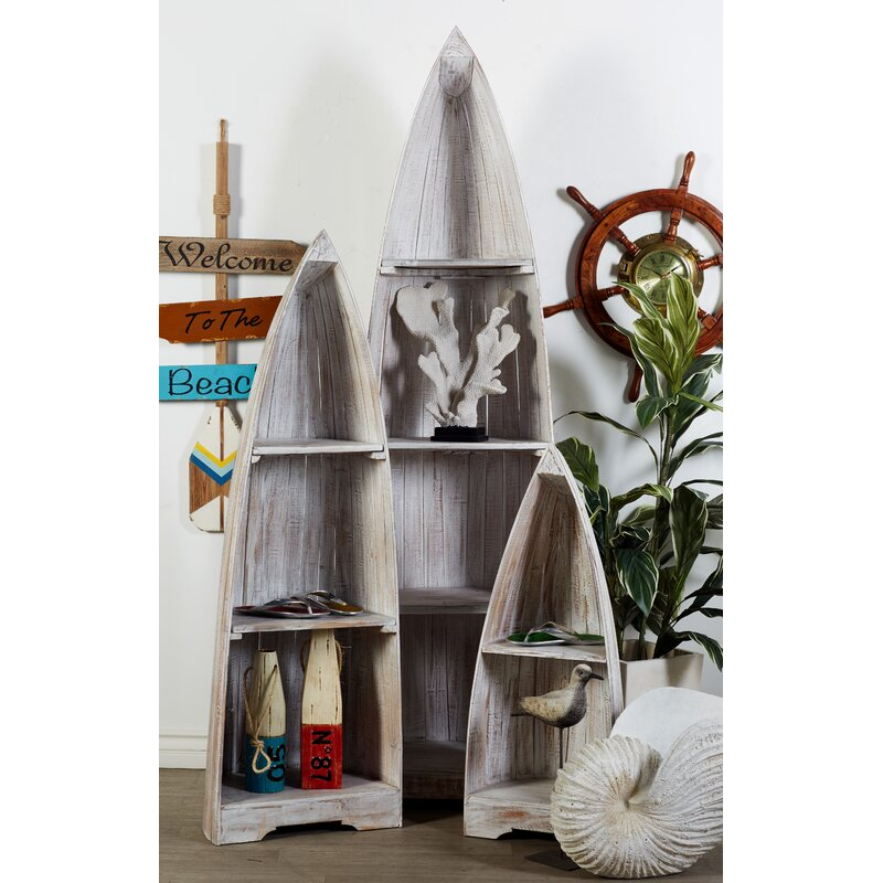 Cole & Grey Boat Accent Shelves