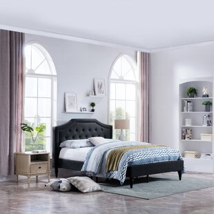 Blumberg Contemporary Queen Fully Upholstered Panel Bed