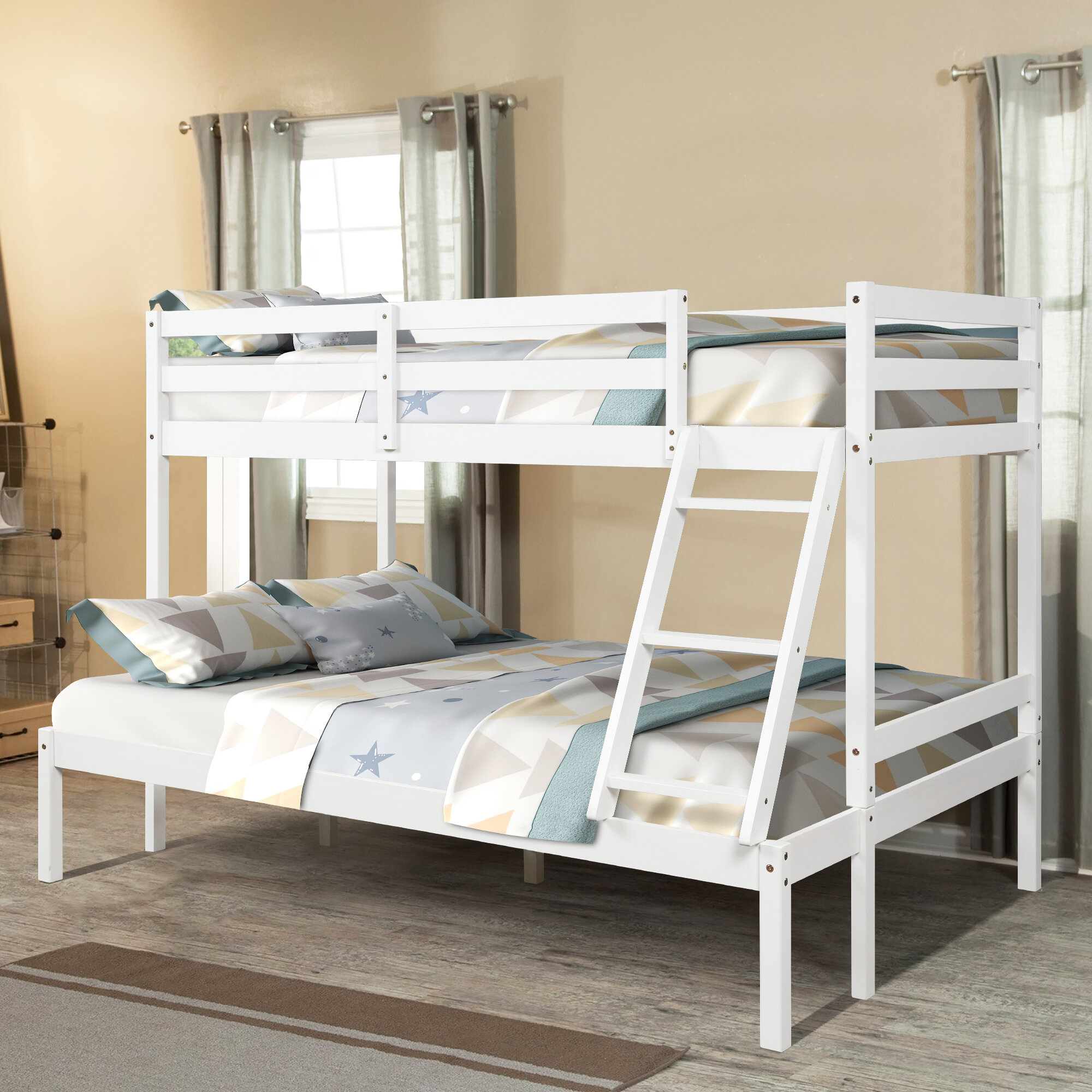 Picture of: Isabelle Max Canada Bay Twin Extra Long Over Full Bunk Bed