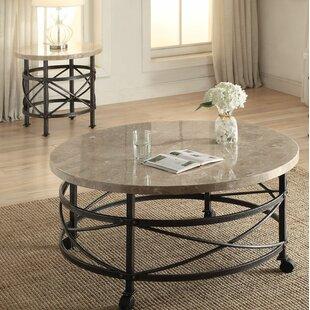 Gracie Oaks Mull 2 Piece Coffee Table Set