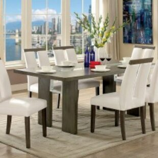 Marcano 7 Piece Solid Wood Dining Set