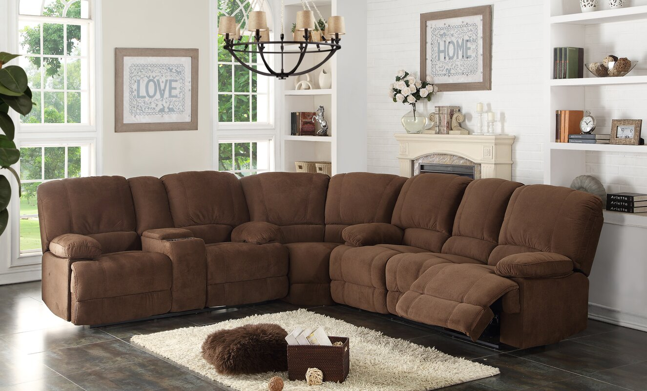 High Quality Kevin Reclining Sectional