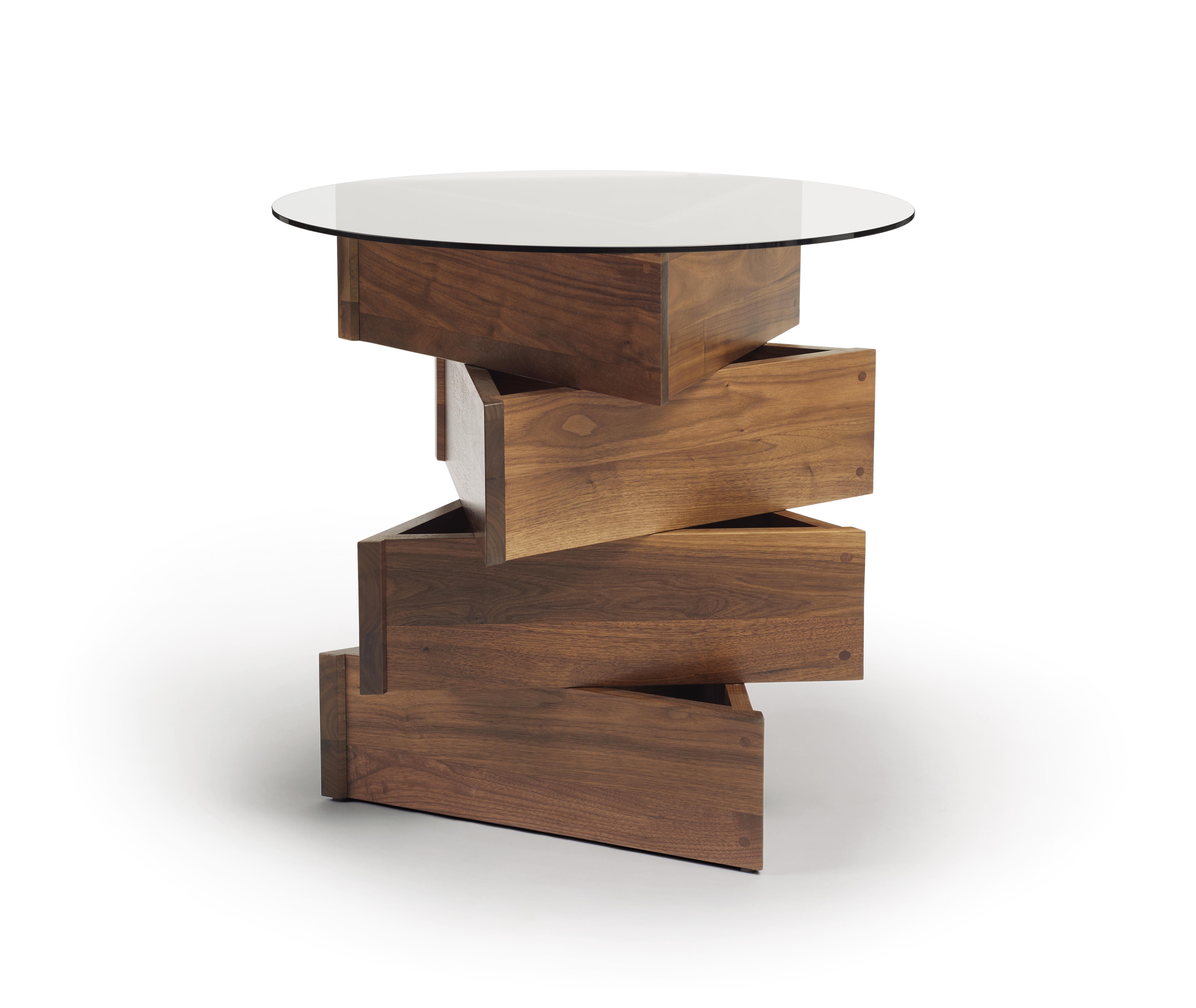 Copeland furniture twist statements end table wayfair