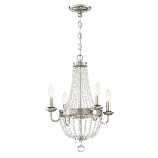House of Hampton Dujardin 4-Light Empire Chandelier