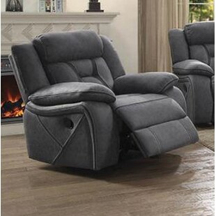 Estevao Manual Glider Recliner by Latitude Run