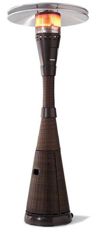 Mocha Propane Patio Heater Review Heaters Mosaic Parts Made In Usa